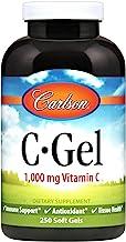 Carlson - C-Gels, 1000mg, Vitamin C Softgels, Immune Support & Heart Health, Vitamin C Softgels, Antioxidant, Vitamin C Su...