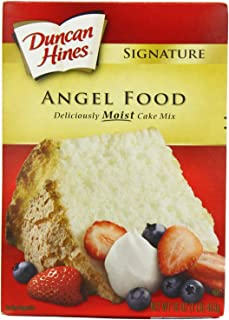 Duncan Hines Signature Cake Mix, Angel Food, 16 Ounce