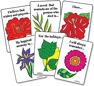 Bright Spots Games Memory Garden: Bereavement Healing Card Game (Grief and Loss Card Game by