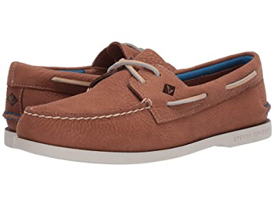 Sperry A/O 2-Eye Plush Washable (Tan) Men
