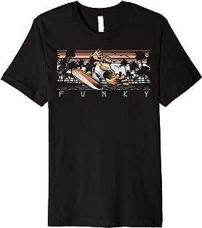 Nintendo Donkey Kong Country Funky Kong Surf Tropical Poster Premium T-Shirt