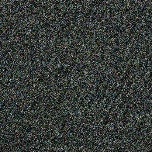 Kunstrasen Rasenteppich mit Noppen | Höhe ca. 10,3mm | 133, 200 und 400 cm Breite | blau grau | Meterware, verschiedene Größen | Größe: 1 x 4 m
