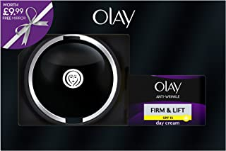 Olay SPF15 Anti-Wrinkle Firm and Lift Moisturiser Day Cream 50 ml Plus Mirror Giftset