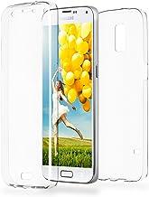 MoEx Funda Protectora 360º de Silicona Compatible con Samsung Galaxy S5 | Transparente, Transparent