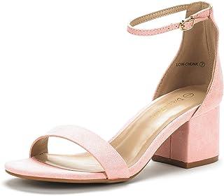 cb432e0b Amazon.es: Rosa - Zapatos de tacón / Zapatos para mujer: Zapatos y ...