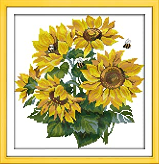 Best sunflower cross stitch pattern Reviews
