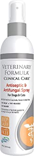 Veterinary Clinical Care Antiseptic and Antifungal Spray for Dogs and Cats – Medicated Topical Spray Treatment for Fungal ...