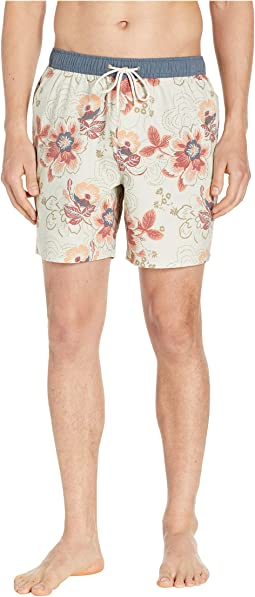 57fd2edbdc Jack spade poppy flower swim trunks, Clothing | Shipped Free at Zappos
