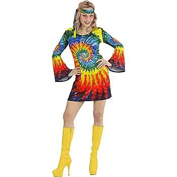 WIDMANN Adultos Disfraz hippie Mujer: Amazon.es: Juguetes y juegos