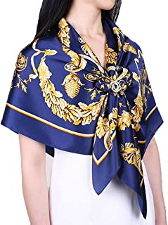 Grace Scarves 100% Silk Scarf, Extra-Large