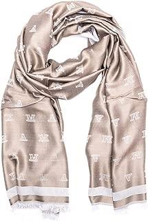 Luxury Fashion   Max Mara Womens 45460197000004 Grey Scarf   Fall Winter 19