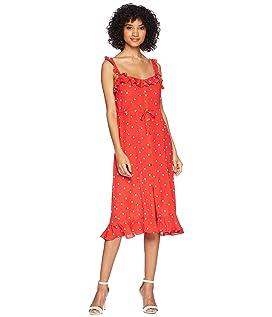Natalia Dot Midi Dress