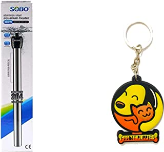 Foodie Puppies SOBO Stainless Steel Aquarium Heater with Key Ring (300 W)