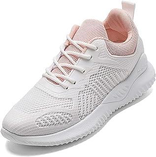 ASMCY Mujeres Al Aire Libre Zapatos Deportivos, Entrenadores Trotar Gimnasio Moda Zapatos para Correr Suave Ligero Respira...