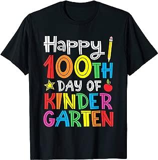 Happy 100th Day of Kindergarten Teacher or Student T-Shirt