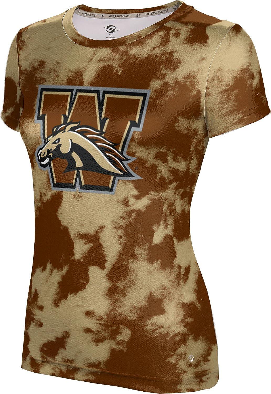 ProSphere Western Michigan University Girls' Performance T-Shirt (Grunge)