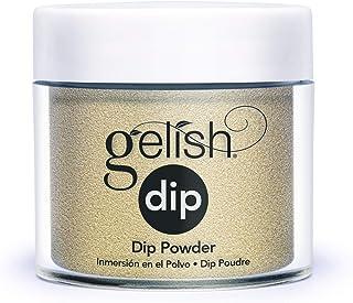 Gelish Dip Gelish Dip Powder - Gilded In Gold - Gold Metallic - 1 unidad