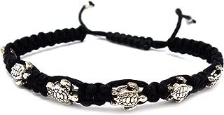 Sea Turtle Bracelet Turtle Hemp Bracelet Hawaiian Sea Turtle Bracelet Handmade Braided Bracelet