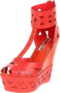 Two Lips Women's Diamond Wedge Sandal