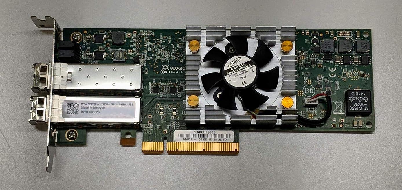 インシュレータ松の木付録QLOGIC QLE8262L HBA 10GBE ホストバスアダプター QLE8262L-CU-DELL