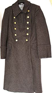 Soviet USSR Russian Military Army Oficer4.5Wool Overcoat - Shinel
