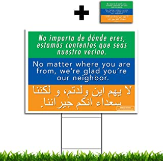 glad you re our neighbor sign