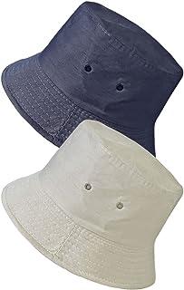 80a992284c TOSKATOK UPF 50+ Unisex Mens Womens Reversible Cotton Blend Summer  Bucket/Bush Hats