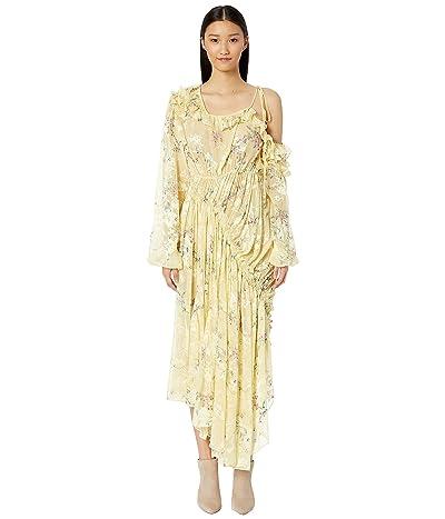 Preen by Thornton Bregazzi Shelia Dress (Lemon Garland) Women