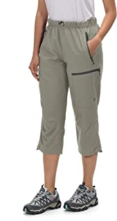 Little Donkey Andy Women's Outdoor Stretch Quick Dry Hiking Capri Pants
