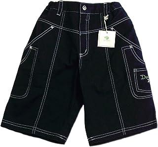 休暇中の王子様 ポケット沢山シンプルなショートパンツ(濠Du) ネイビー 110-130cm