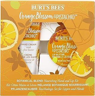 Burt's Bees Nourishing Hand & Lip Kit- Orange Blossom & Pistachio