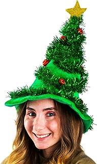 Funny Party Hats Christmas Hats - Holiday Theme Hats - Santa Hats (Christmas Light Up Hat)