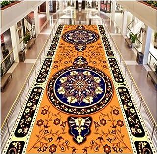 Non-Slip Carpet YANZHEN Hallway Runner Rugs Non-Slip Backing Water Absorption Soft Corridor Living Room Blended Fiber 7mm ...