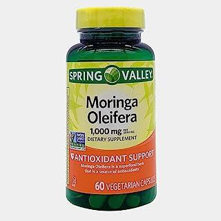 Spring Valley Moringa Oleifera 1,000 mg, Antioxidant, 60 Vegetarian Capsules