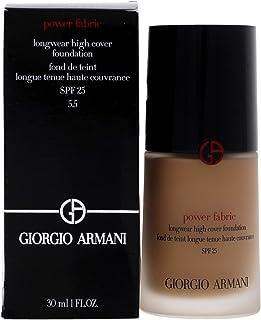 Giorgio Armani Power Fabric Longwear High Cover Foundation SPF 25 - # 5.5 (Medium, Neutral) 30ml/1.01oz