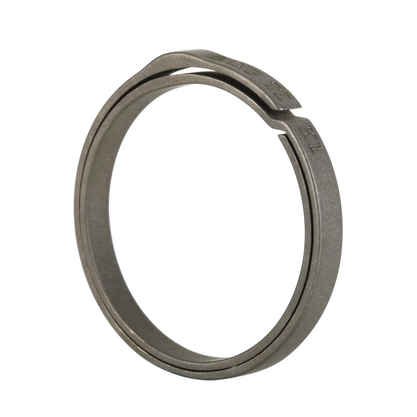 BANG TI Titanium Side-pushing Designed Key Rings (5-Pack, K1, K2) Save Your Nail, Group Your Keys, Lifetime Use ezmhauwuwtf581