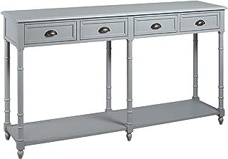 Ashley Furniture Signature Design - Eirdale Console Sofa Table - Vintage Casual - Gray