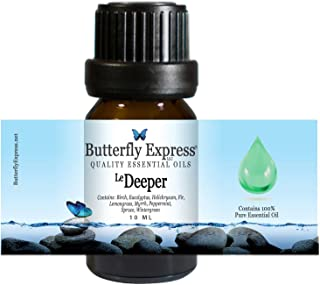 Le Deeper Essential Oil Blend 10ml - 100% Pure - by Butterfly Express