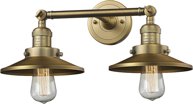 Innovations 新商品!新型 208-BB-M4 Franklin Restoration Light Br Bath Vanity 新品■送料無料■