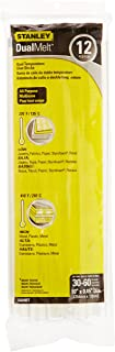 STANLEY Hot Glue Sticks, Dual Temp, 10-Inch, 12-Pack (GS25DT)