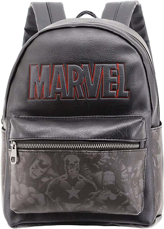 Marvel Comics Black Mini Fashion Backpack