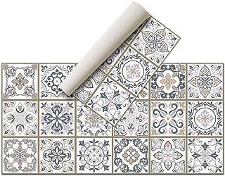 Alfombra Vinílica - (120 x 60 cm, Hidráulica) - Distintos diseños y tamaños - Alfombra Cocina- Alfombra baño - Alfombra Sa...