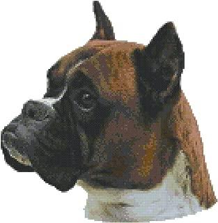 Best boxer dog cross stitch patterns Reviews
