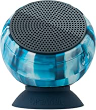 Speaqua Sound Company - Barnacle Vibe Series - Fully Waterproof Bluetooth Speaker with Built in Storage - Tidal Blue Colorway