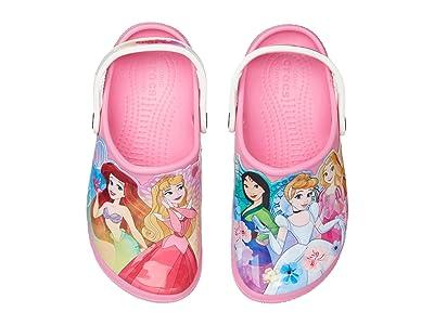 Crocs Kids Fun Lab Disney Princesstm Patch Clog (Toddler/Little Kid) (Pink Lemonade) Girl