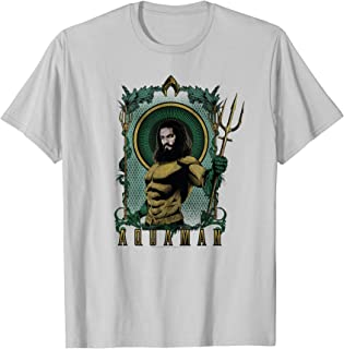DC Comics Aquaman Framed Trident T-Shirt