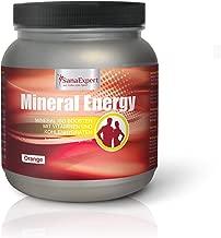 SanaExpert Mineral Energy, Bebida Deportiva Isotónica con Electrolitos, Carbohidratos, Vitaminas y Minerales, Bebida en Polvo, 1100 g