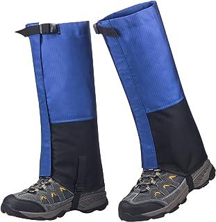 SPAHER Polainas Impermeable al Aire Libre y Polainas Prueba de Viento Guardia de Protección para Las Piernas Senderismo Esquí Escalada