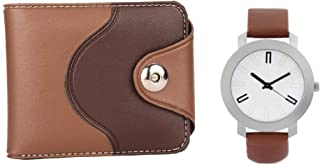 MUNDKAR Mens Accessories Combo of Wallet & Watch for Gifting (Offer-03)