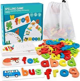 Acheter Anglais Lettres En Bois Puzzle Jouet Lettres Dalphabet Mots Image Éducatif Tapis En Mousse Enfants Montessori Jouets Éducatifs De 8,79 € Du